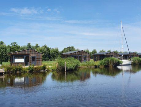 Luxe jachthaven 'Wetterlân', Friese Meren